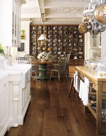 Designer: Susan Dossetter via House Beautiful. Photo Credit: James Carriere