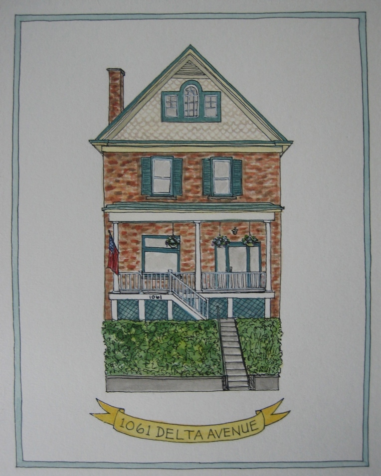 Illustration-Marissa-Huber-House-Portrait-Watercolor-Cincinnati
