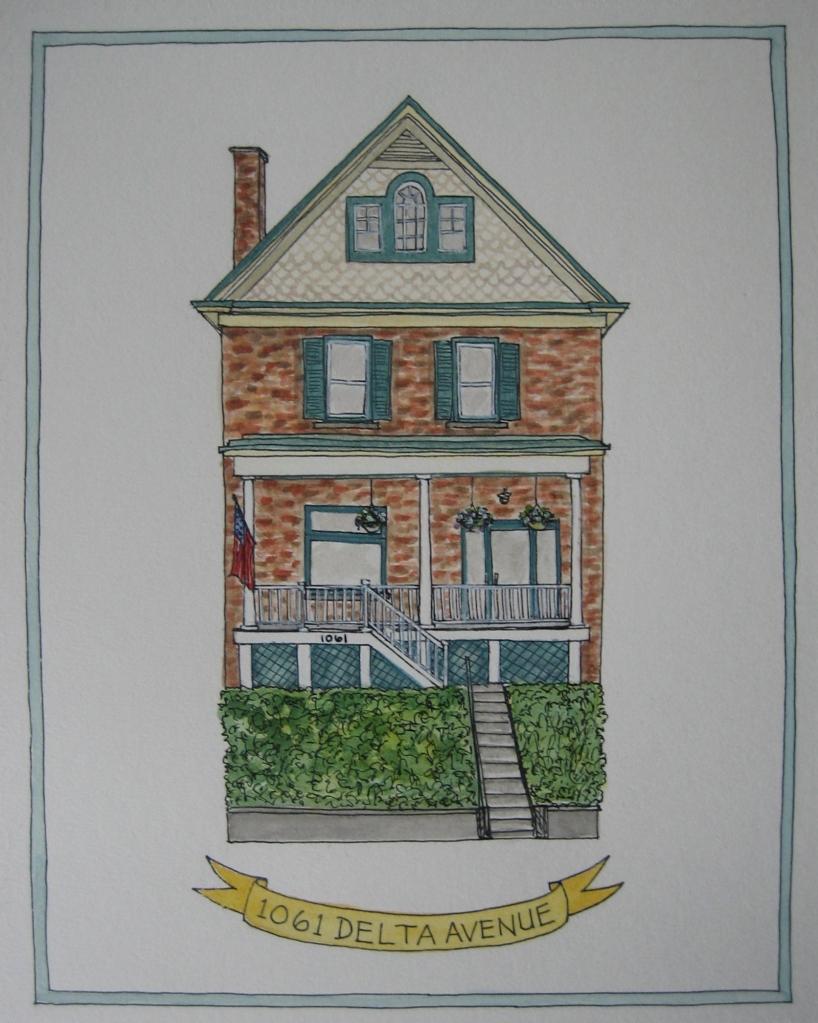 Illustration-Marissa-Huber-House-Portrait-Watercolor-Cincinnati