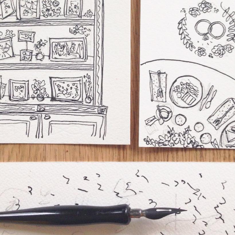 Marissa-Huber-Wedding-Illustration-Pen-Ink