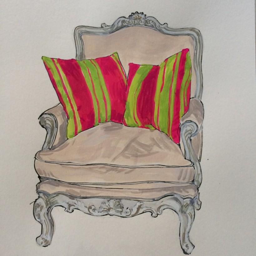 Sonia Brittain Art Chair