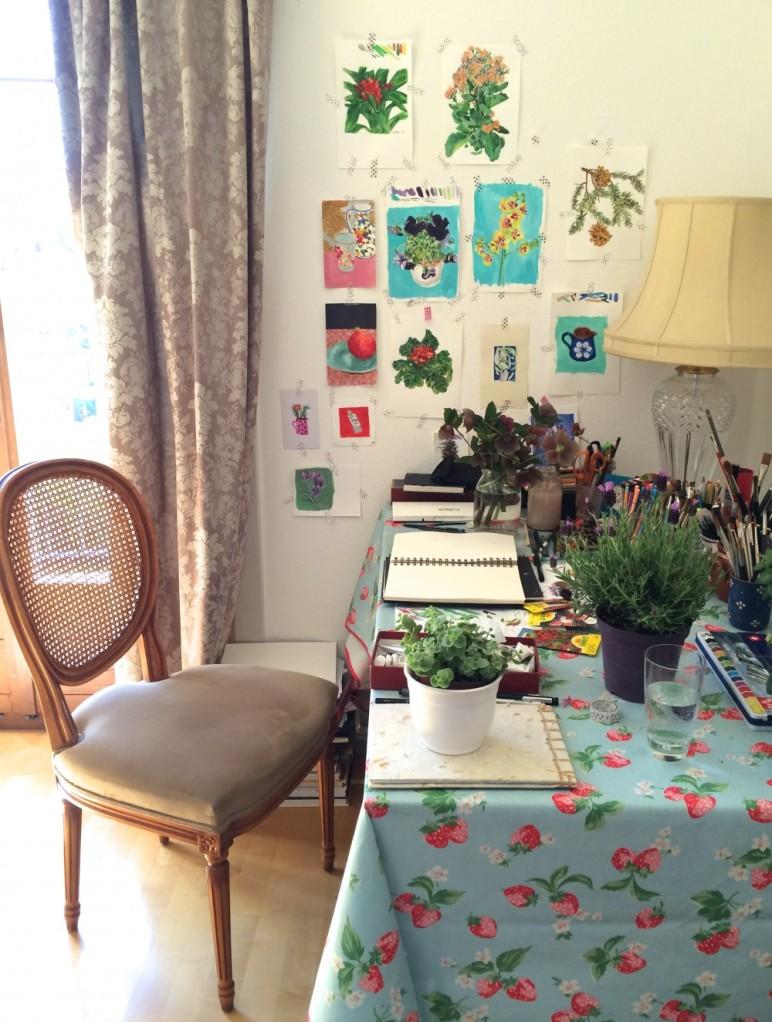 Sonia Brittain Art Studio Space