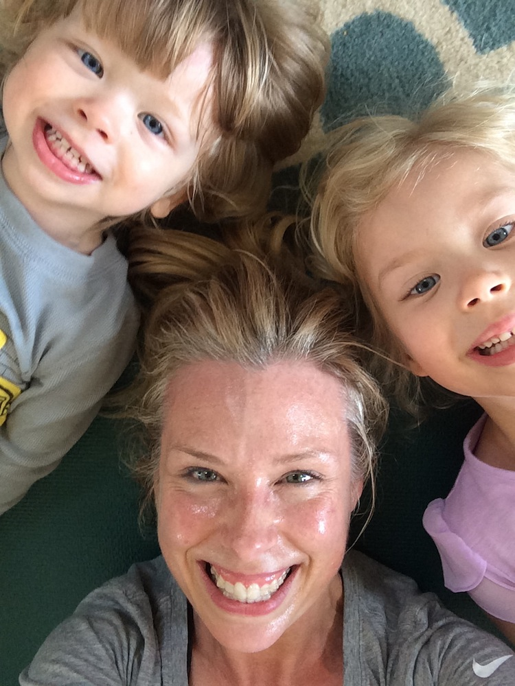 Heather Kirtland and kids